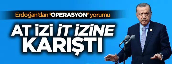 AT İZİ İT İZİNE KARIŞTI !!