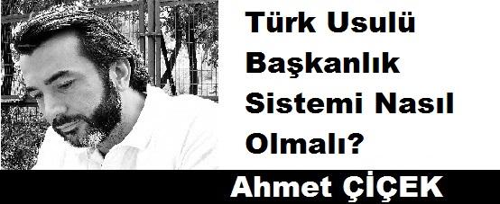 Türk Usulü Başkanlık Sistemi Nasıl Olmalı?