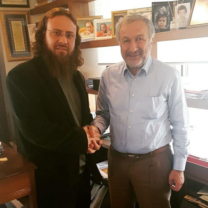 Araştırmacı Yazar Süleyman Yasin AKDENİZ TURSAB Başkanı Başaran ULUSOY'u Ziyaret Etti